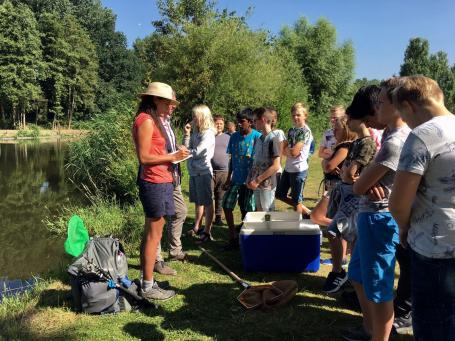 Waterkwaliteit meten met Drinkable Rivers